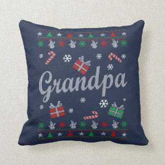 Grandpa Christmas Throw Pillow