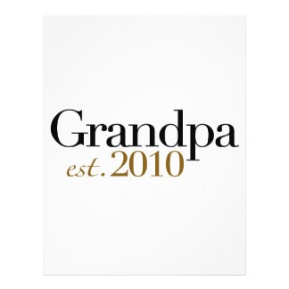 Grandpa Est 2010 Flyers