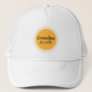 Grandpa Est. 2018, New Grandfather Hat
