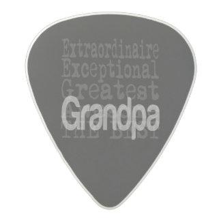 Grandpa Extraordinaire Acetal Guitar Pick