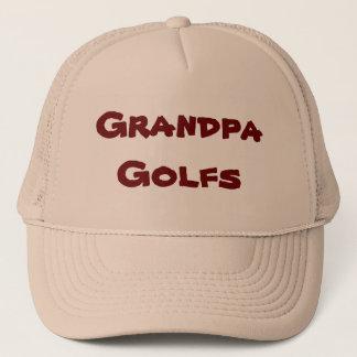 Grandpa Golfs Trucker Hat