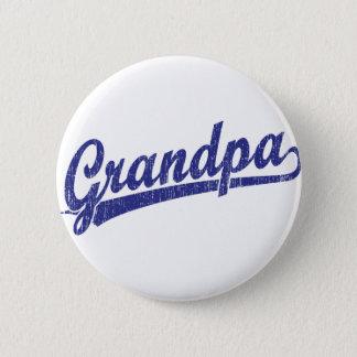 Grandpa in blue 2 inch round button
