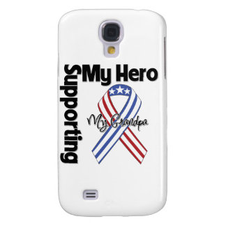 Grandpa - Military Supporting My Hero Galaxy S4 Case