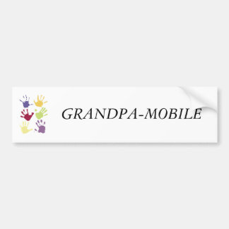 GRANDPA-MOBILE AUTOCOLLANT DE VOITURE