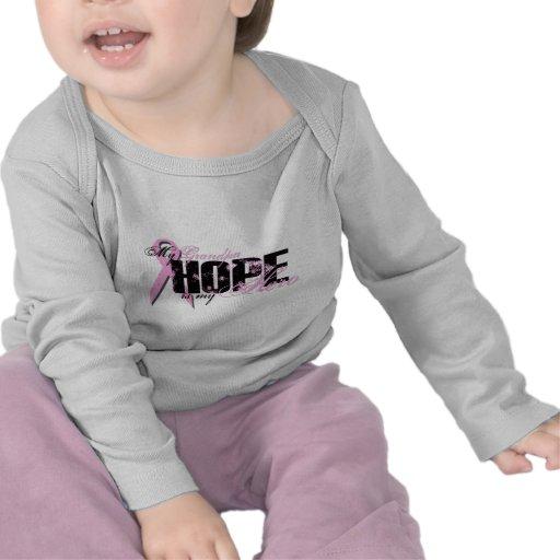 Grandpa My Hero - Breast Cancer Hope T-shirts