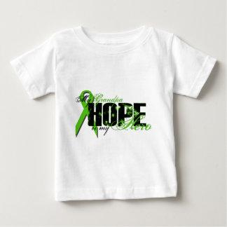 Grandpa My Hero - Lymphoma Hope Baby T-Shirt