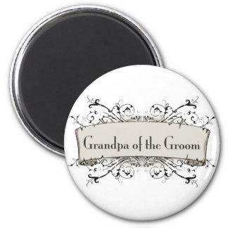*Grandpa Of the Groom Fridge Magnet