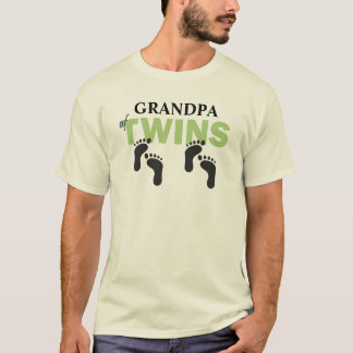 [GRANDPA] of Twins CUSTOMIZE THIS T-SHIRT! T-Shirt