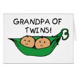 Grandpa of Twins Pod Cards