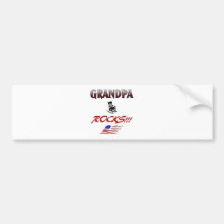 Grandpa Rocks Bumper Sticker