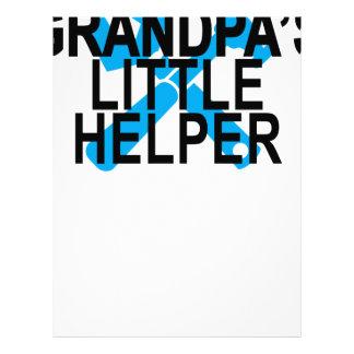 GRANDPA'S LITTLE HELPER . LETTERHEAD