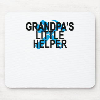 GRANDPA'S LITTLE HELPER . MOUSE PAD