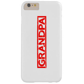 Grandpa Stamp Barely There iPhone 6 Plus Case