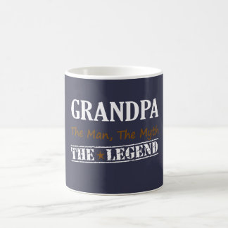 Grandpa The Legend Coffee Mug