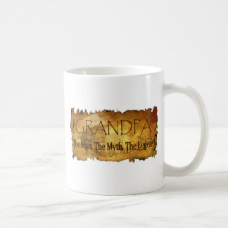 GRANDPA The Man The Myth the legend Coffee Mug