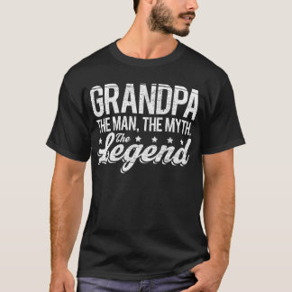 Grandpa The Man, The Myth, The Legend T-Shirt