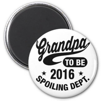Grandpa To Be 2016 Magnet
