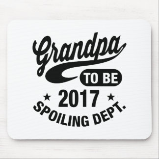 Grandpa To Be 2017 Mouse Pad
