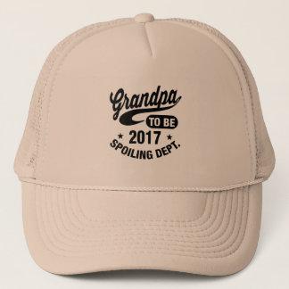 Grandpa To Be 2017 Trucker Hat