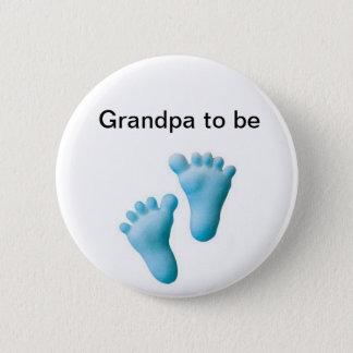 Grandpa to be 2 inch round button