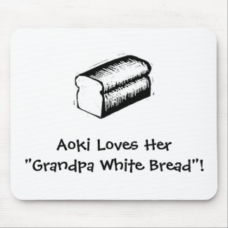 Grandpa White Bread Mouse Pad