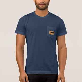 Grandpa with Largemouth Bass on Wall Mount T-Shirt