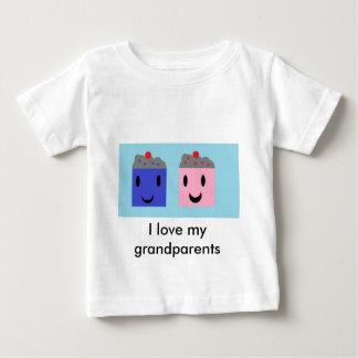 Grandparent Cupcakes Baby T-Shirt