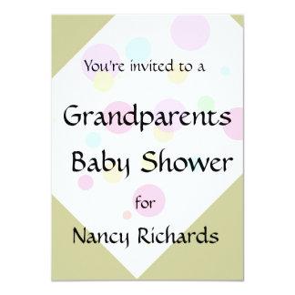 Grandparents Baby Shower Invitation