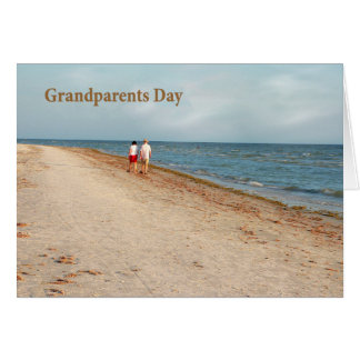 Grandparents Day Card, Beach Scenic Card