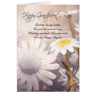 Grandparents Day Card - Daisies