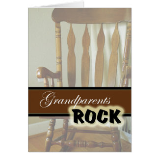Grandparents Rock-Happy Grandparents Day Card