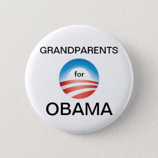 Grandparents Vote Obama 2 Inch Round Button