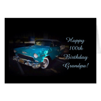 Grandpa's 100th birthday card