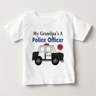 Grandpa's A Police Officer Tee Shirt