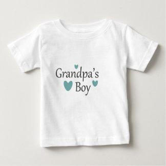 Grandpa's Boy Baby T Shirt