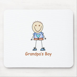 GRANDPAS BOY MOUSE PAD
