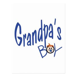 Grandpas Boy Postcard