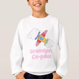 Grandpa's Copilot Girl Sweatshirt