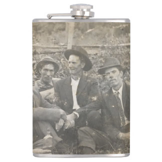 Grandpa's drinking buddies flask