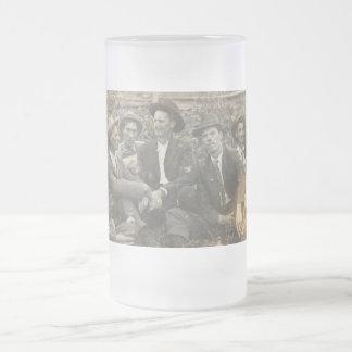 Grandpa's drinking buddies frosted mug