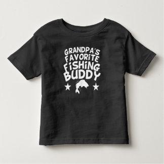 Grandpa's Favorite Fishing Buddy Toddler T-shirt