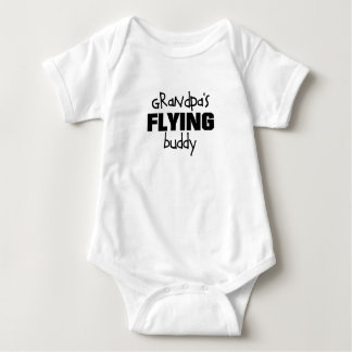 Grandpa's Flying Buddy Baby Bodysuit