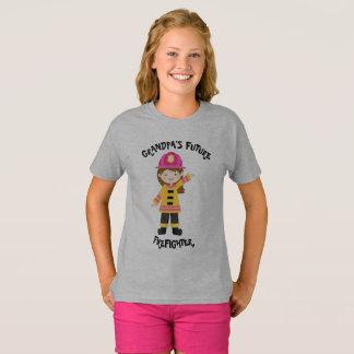 Grandpa's Future Firefighter T-Shirt