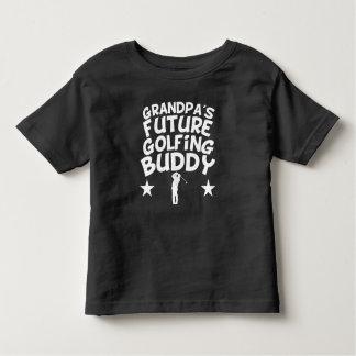 Grandpa's Future Golfing Buddy Toddler T-shirt