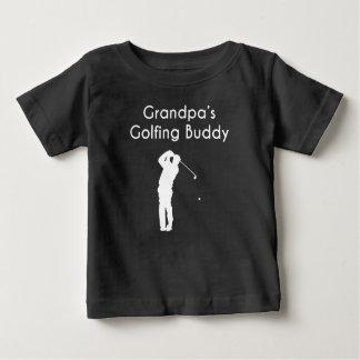 Grandpa's Golfing Buddy Baby T-Shirt