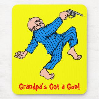 Grandpa's Got a Gun! Mouse Pad