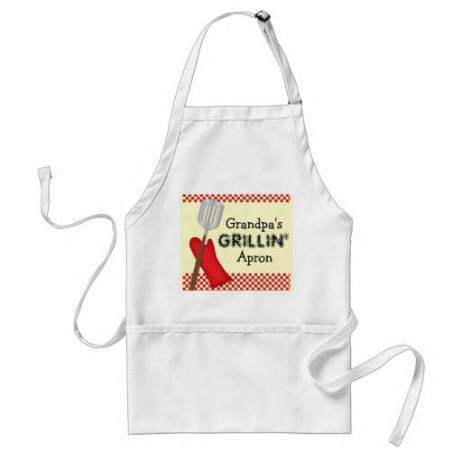 Grandpa's Grillin Apron