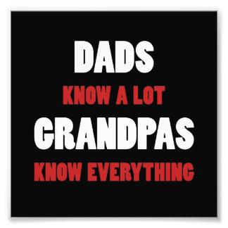 Grandpas Know Everything Photo Art