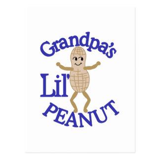 Grandpa's Lil' Peanut Postcard