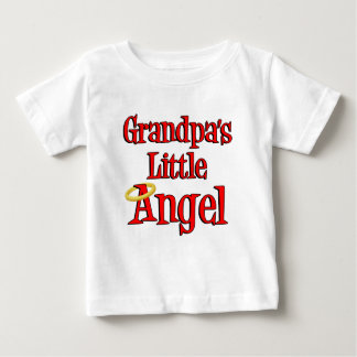 Grandpa's Little Angel Baby T-Shirt